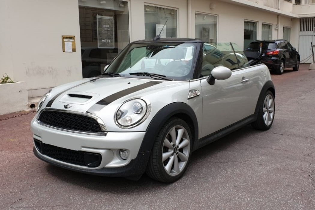Mini Mini Cabriolet R57 184 Ch Cooper S Pack Red Hot Chili Nice